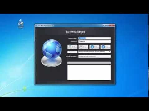 How to Create WiFi Hotspot on Your Laptop with Free WiFi Hotspot Creator Software