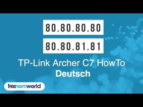 Freenom World TP-Link Archer C7 HowTo (German)