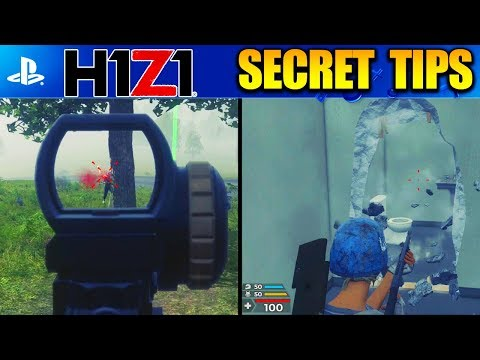 H1Z1 PS4 - BEST BEGINNER H1Z1 PS4 TIPS! BEST H1Z1 PLAYSTATION 4 TIPS (H1Z1 Playstation 4 Gameplay)