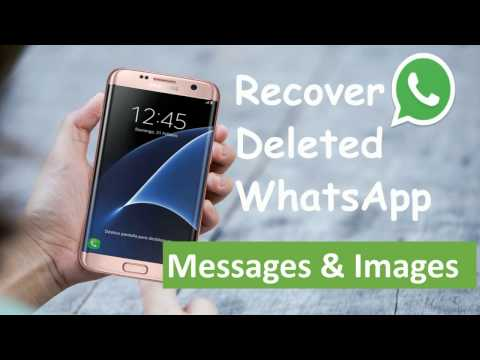 Easy Way to Recover Deleted WhatsApp Messages & Pictures Android 2017