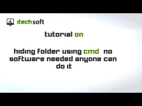 Hide A Folder Using CMD