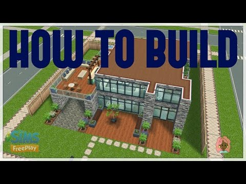 Sims Freeplay - How to build Modern house
