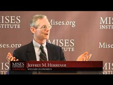 Welfare Economics | Jeffrey M. Herbener