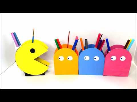 {DIY} Pac-Man Storage