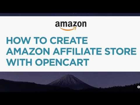 How to Create Amazon Affiliate Store with OpenCart - 2016