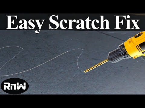 DIY Scratch Repair Using Your Drill