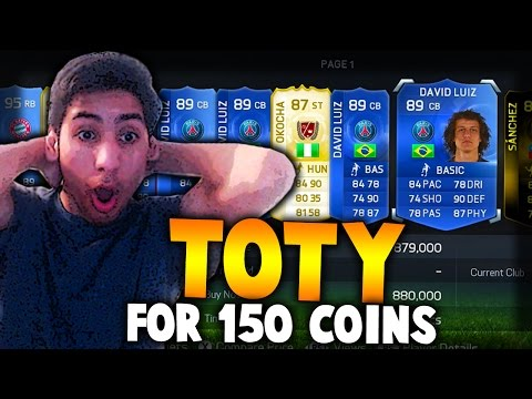 FIFA 15 TOTY - PLAYERS FOR 150 COINS! - BEST OF FIFA 15 TEAM OF THE YEAR TRADING
