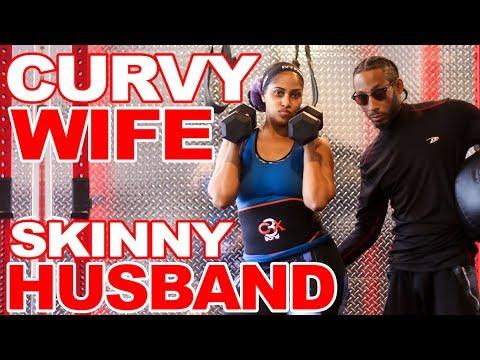 CURVY WOMAN VS SKINNY MAN | KhrisAndChina