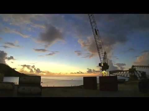 Christmas Island Cargo Ship
