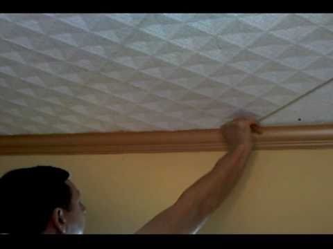 Styrofoam 20x20 Ceiling Tiles Installation Instructions from Euro-Deco - Part 1