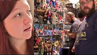 CARPET INSTALLERS CAUGHT STEALING WWE TOYS! (PRANK) MUST SEE!