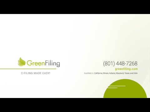 Green Filing - Illinois State Court E-Filing Training