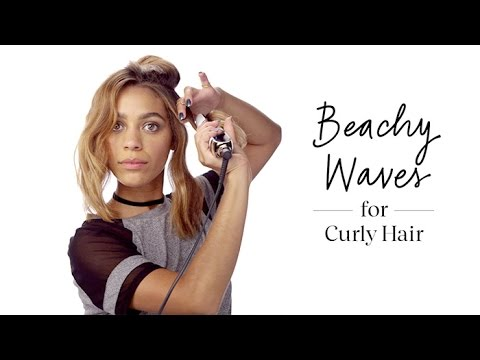How To: Get Beachy Waves With Curly Hair | Sephora