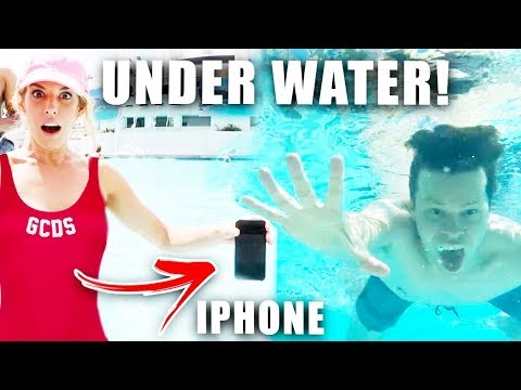 She Dropped my Brand New iPhone X in the Pool (Water Test)