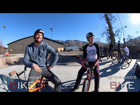 Game of BIKE Aaron Ross Vs. Tristan Sagastume