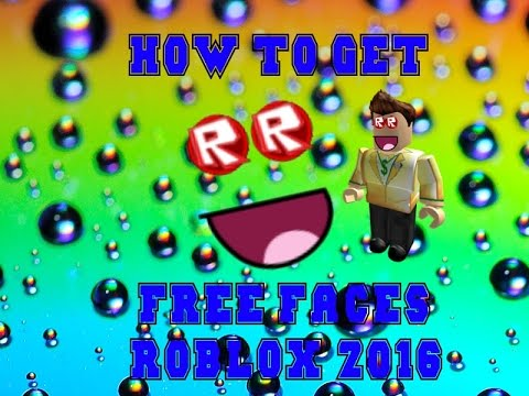 || 10 SUBSCRIBERS || HOW TO GET FREE FACES ON ROBLOX MAY 2016 ||