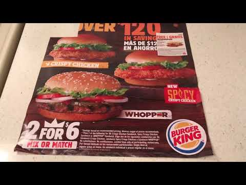 Buy One Get One FREE-Whoppers-The Coupon Queen!