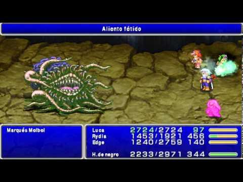 Guia Final Fantasy IV After Years Español PSP 10 Los cristales 08 La cola arcoiris
