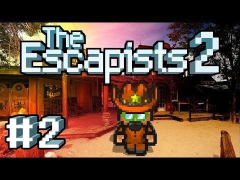The Escapists 2 - #2 - Taking the Job You Want