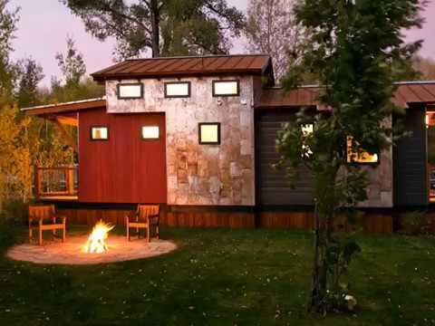 Beautiful Tiny House -Caboose Park  Mini Trailer|Tiny Home Design Ideas
