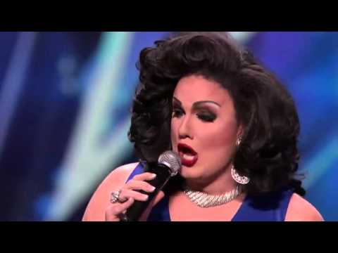 America's Got Talent - Drag Queen Singing LIKE Josh Turner - S10E07