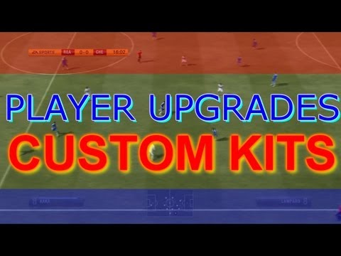 FIFA 13 Pro Clubs IDEA! (Upgrades of Players, Custom Kits)