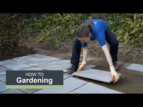 How to lay a patio with Wickes