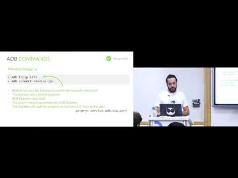 Droidcon NYC 2016 - ADB, Break On Through To the Other Side