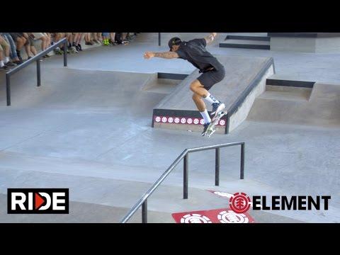 Nyjah Huston, Greyson Fletcher & More - Element Boise Demo
