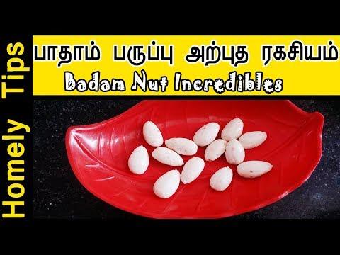 பாதாம் பருப்பின் அற்புத ரகசியம் | Badam nut incredibles | Badam milk in Tamil