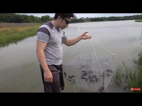How To Make Baits Traps, CRAWFISH TRAP-- Will Catch Ton of Crawfish
