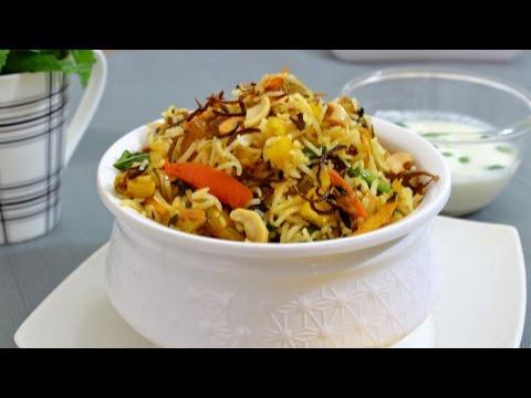 വെജിറ്റബിൾ ബിരിയാണി / Vegetable Biryani - Kerala Style