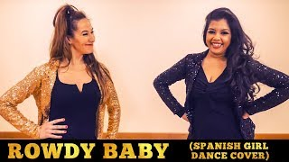 Rowdy Baby (Spanish Girl Dance Cover) | Vinatha's Dance Studio | Maari 2