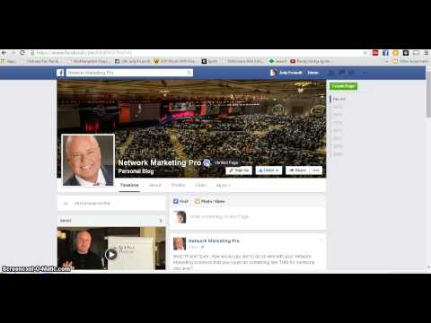 what is  the blue check mark  on a facebook fan page