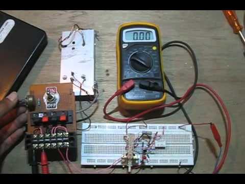 Hamuro's Resettable Electronic Fuse Circuit (Electronic Circuit Breaker)