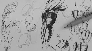 Pen and Ink Drawing Tutorials| How to draw veins - PakVim net HD