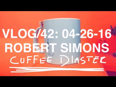 ROBERT SIMONS #42 - COFFEE DIASTER