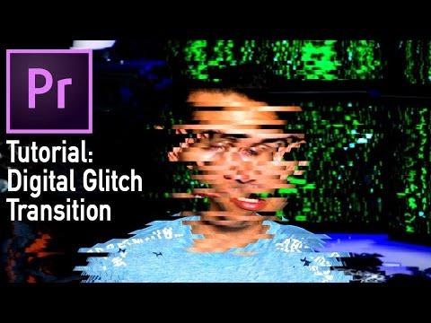 Digital Glitch Transition (Adobe Premiere Pro CC tutorial)