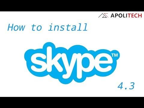 How to install Skype 4.3 ON UBUNTU 14.04./Linux Mint 17......