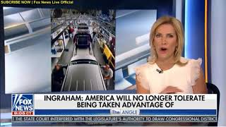 Laura Ingraham intro for show Ingraham angle Fox News 01.25.2018