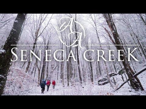 Seneca Creek Snowstorm 4K | Blizzard Camping & Hiking in West Virginia
