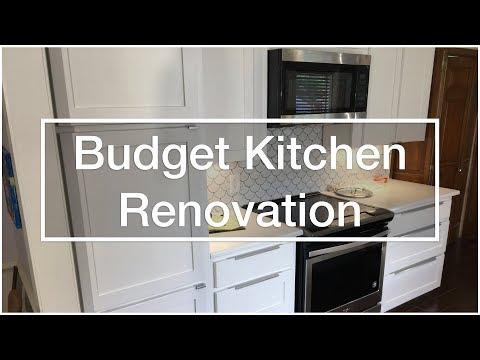 Budget Kitchen Renovation & Cabinet Refacing