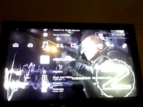 How to connect/stream your laptop to your PS3