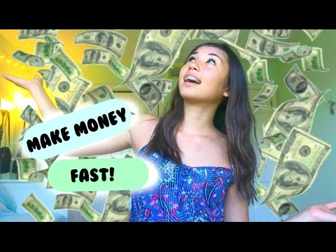 Make money on the internet FAST as a TEEN!!