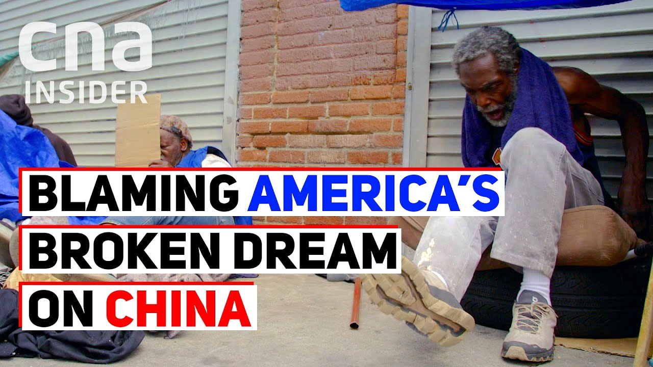 Blaming China For US Poverty And The Broken American Dream