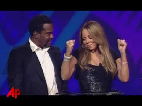 Mariah Carey DRUNK while accepting an award for her movie PRECIOUS 2010. Giving a bizarre speech.