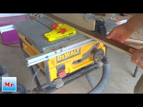 How to Make Stair Nosing from Hardwood Flooring Boards Tutorial - MrYoucandoityourself
