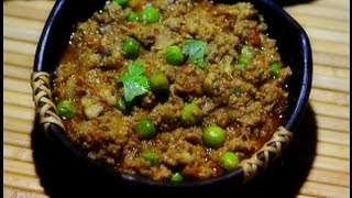 Keema Matar Recipe (Minced Meat with Peas Curry) Video
