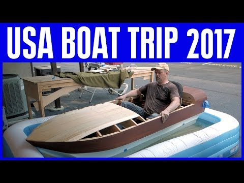 How to Build a Small Wooden Boat Series - Beyond the Boat Build - USA Road Trip