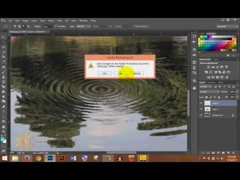 how to create water ripple photoshop bangla tutorial